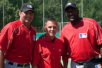 Baseball - MLB European Academy - Tirrenia (Italy) - 21/08/2009 - Bruce Hurst, Mike McClellan, Lee Smith