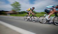 Heistse Pijl 2013<br /> <br /> Tom Boonen (BEL) &amp; Guillaume Van Keirsbulck (BEL) making a break