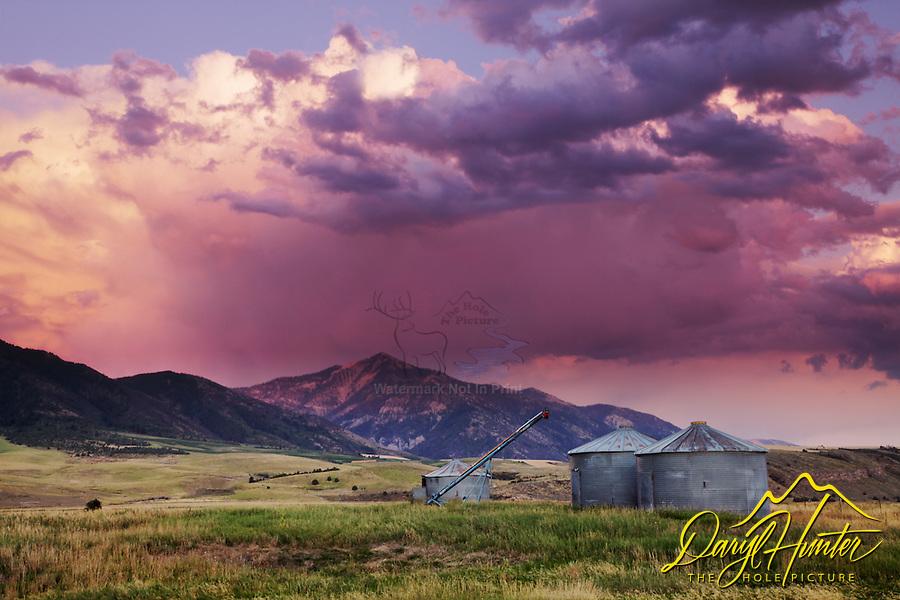 Thunderstorm Sunset, Swan Valley, Idaho
