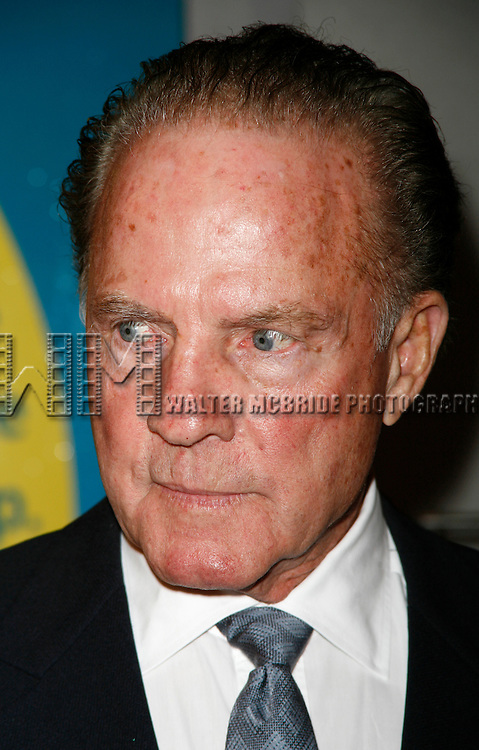 Frank Gifford<br /> arriving for the Opening Night performance of THE LITTLE MERMAID at the Lunt-Fointanne Theatre in New York City.<br /> January 10, 2008