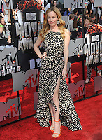 Leslie Mann at the 2014 MTV Movie Awards at the Nokia Theatre LA Live.<br /> April 13, 2014  Los Angeles, CA<br /> Picture: Paul Smith / Featureflash