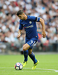 Chelsea's Alvaro Morata in action during the premier league match at the Wembley Stadium, London. Picture date 20th August 2017. Picture credit should read: David Klein/Sportimage