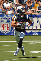 Sept. 17, 2006; San Diego, CA, USA; San Diego Chargers wide receiver (88) Eric Parker against the Tennessee Titans at Qualcomm Stadium in San Diego, CA. Mandatory Credit: Mark J. Rebilas