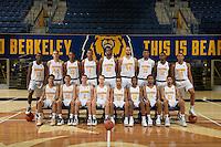 Berkely, Ca - Friday, September 23, 2016: Cal 2016 Men's Basketball Team Photo
