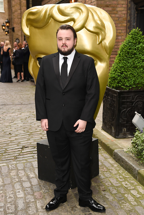 John Bradley<br /> arriving for the BAFTA Craft Awards 2018 at The Brewery, London<br /> <br /> ©Ash Knotek  D3398  22/04/2018