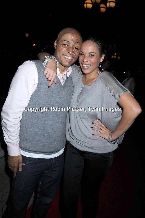 JR Martinez and Daphnee Duplaix