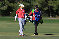 Matthew Jordan (ENG) on the 13th fairway during Round 3 of the Challenge Tour Grand Final 2019 at Club de Golf Alcanada, Port d'Alcúdia, Mallorca, Spain on Saturday 9th November 2019.<br /> Picture:  Thos Caffrey / Golffile<br /> <br /> All photo usage must carry mandatory copyright credit (© Golffile | Thos Caffrey)