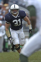 18 November 2006:  Penn State LB Paul Posluszny (31)..The Penn State Nittany Lions defeated the Michigan State Spartans 17-13 for the Land Grant Trophy November 18, 2006 at Beaver Stadium in State College, PA..