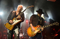 www.acepixs.com<br /> <br /> February 10 2017, Pompano Beach<br /> <br /> Rickey Medlocke and Gary Rossington of Lynyrd Skynyrd performing at The Pompano Beach Amphitheater on February 10, 2017 in Pompano Beach, Florida. <br /> <br /> By Line: Solar/ACE Pictures<br /> <br /> ACE Pictures Inc<br /> Tel: 6467670430<br /> Email: info@acepixs.com<br /> www.acepixs.com