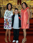 Karl Doherty with his mother Michelle and his sponsor Caroline Moran at Congress Avenue and Fatima Confirmation in St.Mary's Church...(Photo credit should read Jenny Matthews www.newsfile.ie)....This Picture has been sent you under the conditions enclosed by:.Newsfile Ltd..The Studio,.Millmount Abbey,.Drogheda,.Co Meath..Ireland..Tel: +353(0)41-9871240.Fax: +353(0)41-9871260.GSM: +353(0)86-2500958.email: pictures@newsfile.ie.www.newsfile.ie.