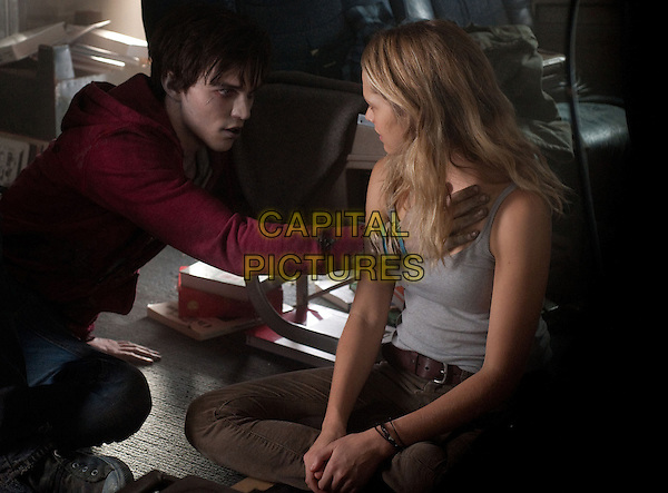 NCHOLAS HOULT, TERESA PALMER.in Warm Bodies (2013) .*Filmstill - Editorial Use Only*.CAP/FB.Supplied by Capital Pictures.