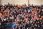 Stockholm 2016-02-12 Bandy Elitserien Hammarby IF - Bolln&auml;s GIF :  Bolln&auml;s supportrar under bandymatchen i Elitserien mellan Hammarby och Bolln&auml;s den 12 Februari 2016 i Stockholm. <br /> (Foto: Kenta J&ouml;nsson) Nyckelord:  Elitserien Bandy Hammarby Bolln&auml;s