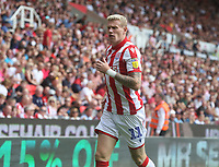 Stoke City's James McClean <br /> <br /> Photographer Stephen White/CameraSport<br /> <br /> The EFL Sky Bet Championship - Stoke City v Queens Park Rangers - Saturday 3rd August 2019 - bet365 Stadium - Stoke-on-Trent<br /> <br /> World Copyright © 2019 CameraSport. All rights reserved. 43 Linden Ave. Countesthorpe. Leicester. England. LE8 5PG - Tel: +44 (0) 116 277 4147 - admin@camerasport.com - www.camerasport.com