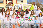 Castleisland Community dance club who marched in the St Patricks day parade in Castleisland on Tuesday