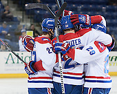- The University of Massachusetts Lowell River Hawks defeated the visiting American International College Yellow Jackets 6-1 on Tuesday, December 3, 2013, at Tsongas Arena in Lowell, Massachusetts.