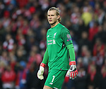Loris Karius of Liverpool during the Champions League Semi Final 1st Leg match at Anfield Stadium, Liverpool. Picture date: 24th April 2018. Picture credit should read: Simon Bellis/Sportimage