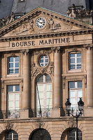 Bourse Maritime, Quai Louis 18. Bordeaux city, Aquitaine, Gironde, France