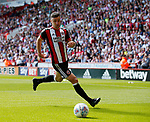 Enda Stevens of Sheffield Utd  during the English Championship League match at Bramall Lane Stadium, Sheffield. Picture date: August 5th 2017. Pic credit should read: Simon Bellis/Sportimage