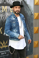 "LOS ANGELES - MAY 8:  AJ McLean at the ""King Arthur Legend of the Sword"" World Premiere on the TCL Chinese Theater IMAX on May 8, 2017 in Los Angeles, CA"