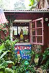 Anuhea Flowers shop in Makawao, Maui, HI, a tiny gem tucked just behind the main drag.