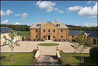 BNPS.co.uk (01202 558833)<br /> Pic: Strutt&amp;Parker/BNPS<br /> <br /> ***Please use full byline***<br /> <br /> Kingswood House near Woodstock, Oxfordshire, built from Cotswold Stone with a guide price of $&pound;4.5m. Built in 2014. <br /> <br /> To the Manor Reborn...<br /> <br /> Britain's super rich are turning their backs on the decaying stately piles beloved by the aristocracy and building brand new modern mansions on their country estates.<br /> <br /> Rather than investing in the leaky roofs and draughty windows of days gone by, modern millionaires are choosing to build plush pads from the ground up.<br /> <br /> And they are filling their dream homes with every conceivable luxury without the need for a bottomless sink fund to pay for the costly upkeep of older houses.<br /> <br /> Estate agents specialising in top-end properties have reported a clear swing from grand Victorian manor houses to state of the art modern homes kitted out with all the mod cons.<br /> <br /> The multi-million pounds properties have been popping up across the country over the past few years - and are now being heralded as the stately homes of the future.