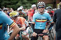 Greg Van Avermaet (BEL/BMC) at the start<br /> <br /> Elite Men Road Race<br /> UCI Road World Championships Richmond 2015 / USA