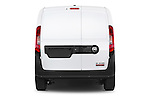 Straight rear view of a 2015 Ram Promaster City Trademans 4 Door Cargo Van stock images