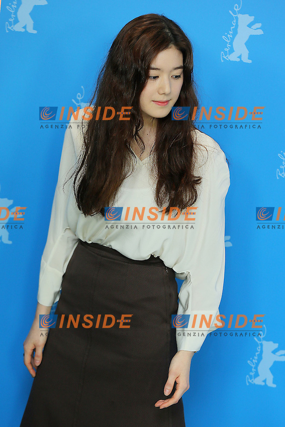 Jung Eunchae. Berlin 15/02/2013. 63th Berlinale 'Nobody's Daughter Haewon' photocall. foto Mark Cape/Insidefoto