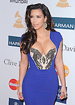 Kim Kardashian attends the Annual Clive Davis & The Recording Company Pre-Grammy Gala held at The Beverly Hilton in Beverly Hills, California on February 11,2011                                                                               © 2012 DVS / Hollywood Press Agency