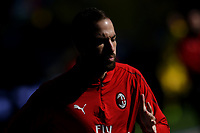 Gonzalo Higuain of AC Milan warms up before the Serie A 2018/2019 football match between Frosinone and AC Milan at stadio Benito Stirpe, Frosinone, December, 26, 2018 <br />  Foto Andrea Staccioli / Insidefoto