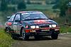 FORD Sierra RS Cosworth #3, Stig BLOMQVIST (SWE) - Bruno BERGLUND (SWE), 1000 LAKES RALLY 1987