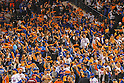 Mets fans,<br /> OCTOBER 5, 2016 - MLB :<br /> New York Mets fans swing towels before the National League Wild Card Game against the San Francisco Giants at Citi Field in Flushing, New York, United States. (Photo by Hiroaki Yamaguchi/AFLO)