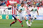 Fernando Torres of Atletico de Madrid during La Liga match between  Atletico de Madrid and Elche at Vicente Calderon stadium in Madrid, Spain. April 25, 2015. (ALTERPHOTOS/Caro Marin)