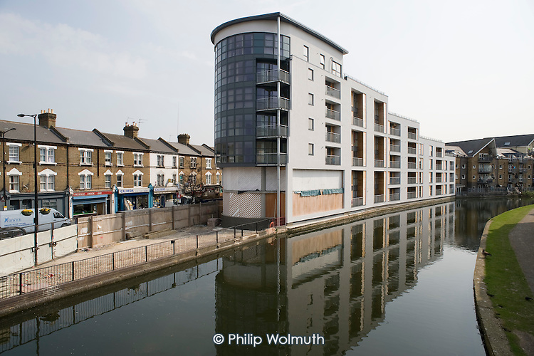 Orpheus House, Harrow Road, North Paddington.  Newbuild flats for sale and rent.