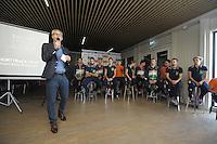 SHORTTRACK: LEEUWARDEN: Elfstedenhal, 28-09-2016, Kick-off Shorttrackploeg seizoen 2016/2017, ©foto Martin de Jong