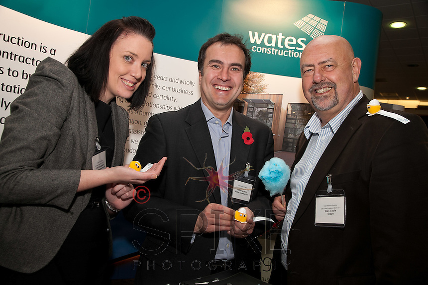 Tiny little pets for Lisa Cunningham and Philip Harrison of Wates Construction and Alan Coole of Scape