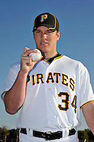 Feb 28, 2010; Bradenton, FL, USA; Pittsburgh Pirates  pitcher Daniel McCutchen (34) during  photoday at Pirate City. Mandatory Credit: Tomasso De Rosa/ Four Seam Images