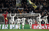 Calcio, Serie A: Juventus - Caglairi, Turin, Allianz Stadium, November 3, 2018.<br /> Juventus' players celebrate after winning 3-1 the Italian Serie A football match between Juventus and Cagliari at Torino's Allianz stadium, November 3, 2018.<br /> UPDATE IMAGES PRESS/Isabella Bonotto