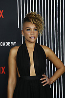 """LOS ANGELES - FEB 12:  Emmy Raver-Lampman at the """"The Umbrella Academy"""" Premiere at the ArcLight Hollywood on February 12, 2019 in Los Angeles, CA"""