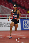 Keisuke Ushiro (JPN), <br /> AUGUST 25, 2018 - Athletics : Men's Decathlon 400m at Gelora Bung Karno Main Stadium during the 2018 Jakarta Palembang Asian Games in Jakarta, Indonesia. <br /> (Photo by MATSUO.K/AFLO SPORT)