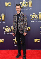 Brandon Flynn at the 2018 MTV Movie &amp; TV Awards at the Barker Hanger, Santa Monica, USA 16 June 2018<br /> Picture: Paul Smith/Featureflash/SilverHub 0208 004 5359 sales@silverhubmedia.com