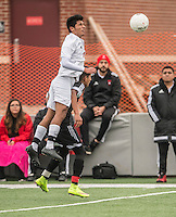 NWA Democrat-Gazette/ANTHONY REYES &bull; @NWATONYR<br /> Springdale against Fort Smith Northside Thursday, March 19, 2015 at Bulldog Stadium in Springdale. The Bulldogs won on penalty kicks after a 2-2 tie at the end of regulation.