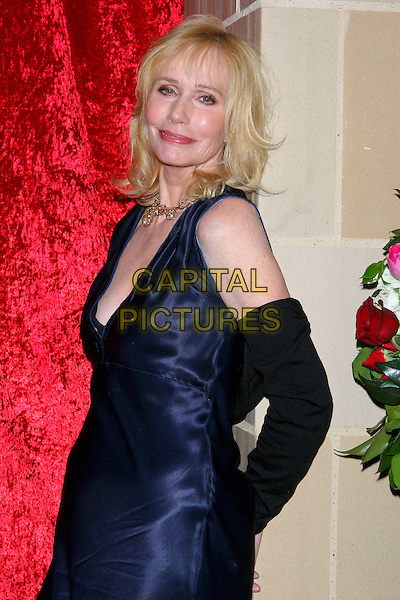 "SALLY KELLERMAN.""What A Pair! 3""  A celebrity concert to benefit the Revlon/UCLA Breast Center held at UCLA's Royce Hall, Los Angeles, CA, USA, 8 April 2005..half length long blue dress sleeves .Ref: ADM.www.capitalpictures.com.sales@capitalpictures.com.©Jacqui Wong/AdMedia/Capital Pictures."