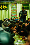 Communal meals are given to the congregagation during Ashura.