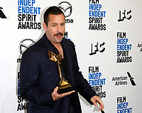 LOS ANGELES - FEB 8:  Adam Sandler at the 2020 Film Independent Spirit Awards at the Beach on February 8, 2020 in Santa Monica, CA