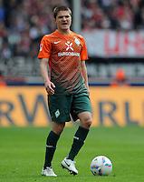 FUSSBALL   1. BUNDESLIGA   SAISON 2011/2012   29. SPIELTAG 1. FC Koeln - SV Werder Bremen                           07.04.2012 Aleksandar Ignjovski (SV Werder Bremen)