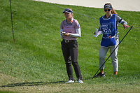 Brooke M. Henderson (CAN) looks over her approach shot on 11 during the round 3 of the KPMG Women's PGA Championship, Hazeltine National, Chaska, Minnesota, USA. 6/22/2019.<br /> Picture: Golffile | Ken Murray<br /> <br /> <br /> All photo usage must carry mandatory copyright credit (© Golffile | Ken Murray)