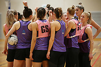 29.08.2017 Silver Ferns in action during the Silver Ferns training in Auckland. Mandatory Photo Credit ©Michael Bradley.