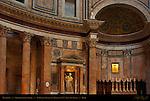Pantheon Interior Architecture St Rasius Francesco Moderati 1727 Apse and Altar Campus Martius Rome