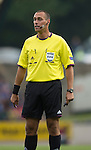 St Johnstone v Rosenborg....25.07.13  Europa League Qualifier<br /> Referee Miroslav Zelinka<br /> Picture by Graeme Hart.<br /> Copyright Perthshire Picture Agency<br /> Tel: 01738 623350  Mobile: 07990 594431